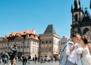 Моя сказочная свадьба в Праге